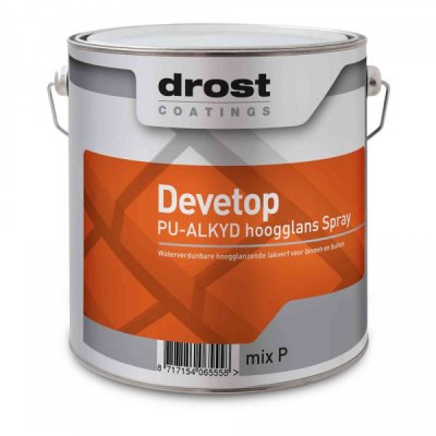 Drost Devetop PU/ALKYD Spray Hoogglans