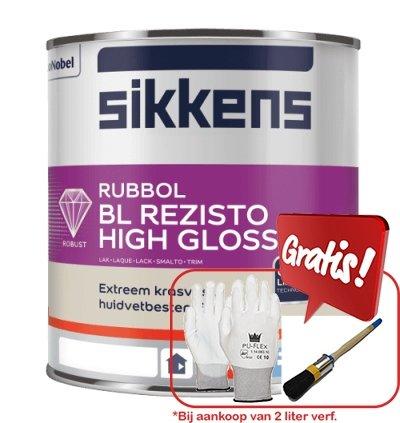 Sikkens Rubbol BL Rezisto High Gloss+actie
